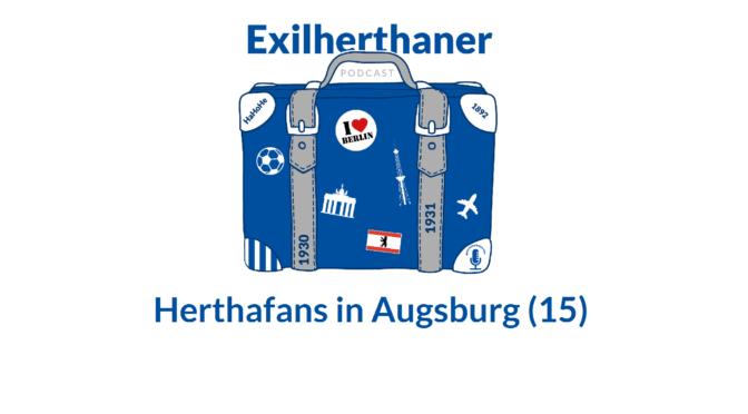 Herthafans in Augsburg (15)