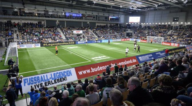 Hertha BSC beim Budenzauber im Emsland